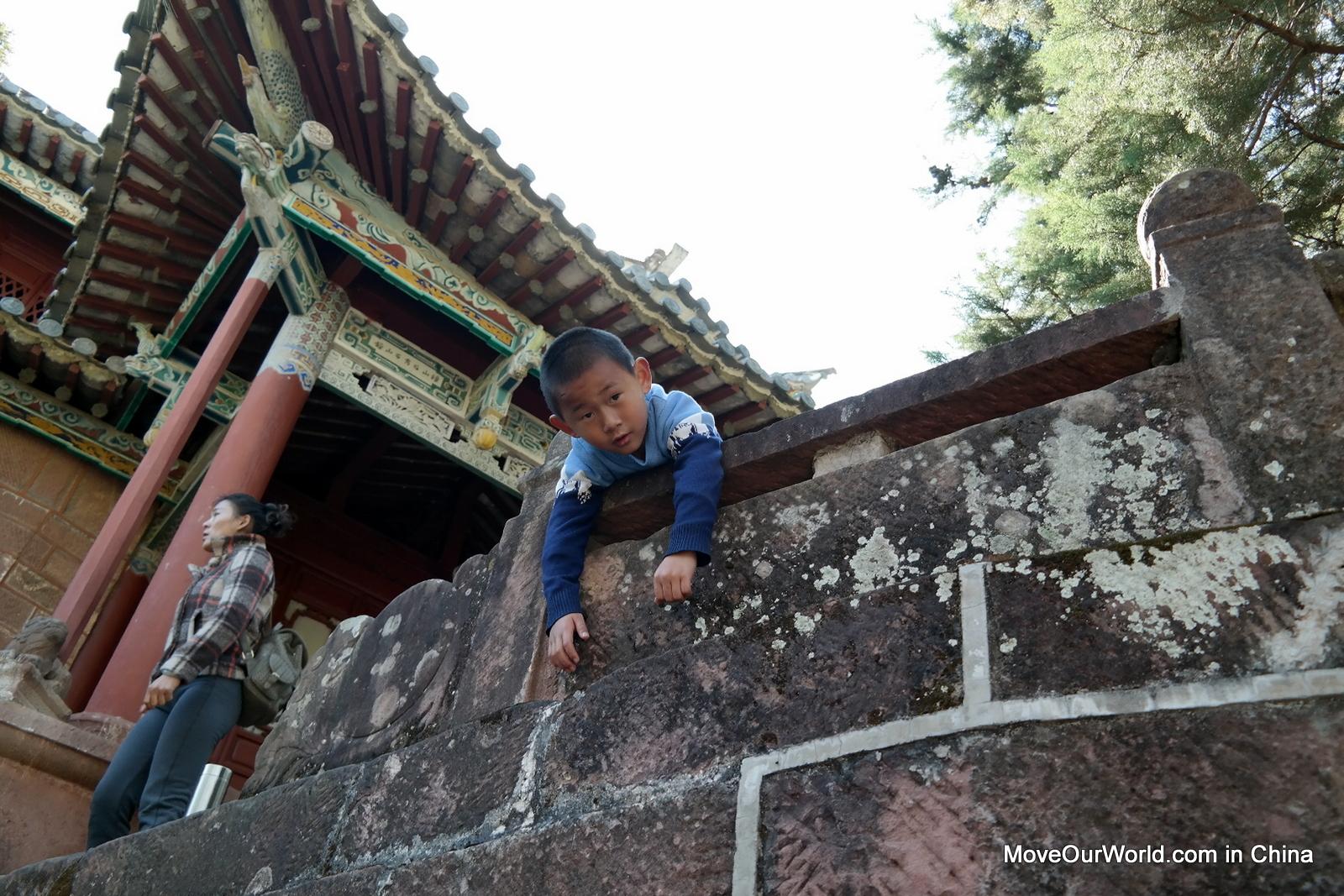Shaxi trekking temple