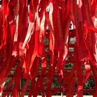 Red color - Spring Festival - Temple
